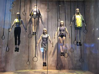 H London - One of the best Olympic themed windows around the Capital