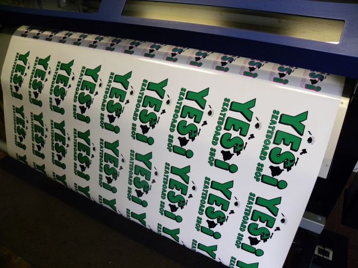 Use our stickers indoor or out we use premium vinyl for all of our digital printed applications