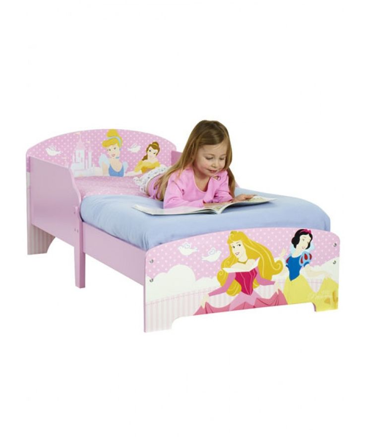 This Fun Disney Princess Toddler Bed Will Make Going To Your Childs Favourite Part Of