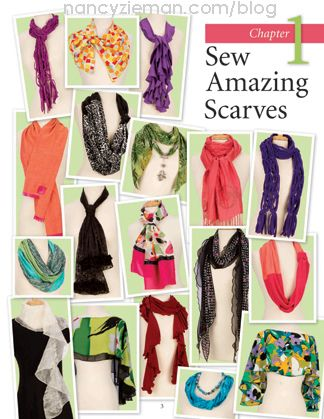 Favorite Scarves to Sew by Nancy Zieman and Donna Fenske Part Two | Nancy Zieman Blog