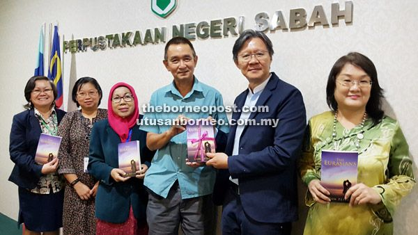KOTA KINABALU: Don Peter's The Eurasians, the first English Romance Thriller book from Borneo taken under the international Partridge Singapore Publishing wing, could hit the silver screen in…