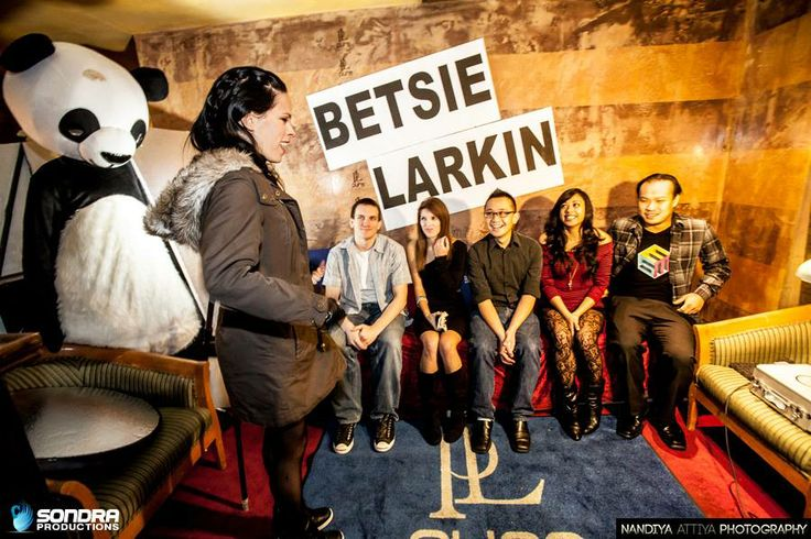 Betsie Larkin Q&A session at Pure