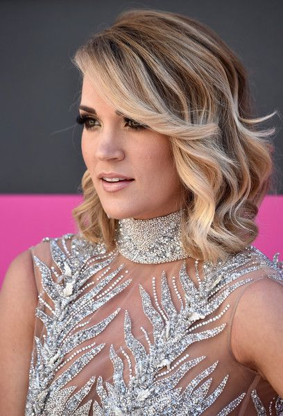 - Recording artist Carrie Underwood attends the 52nd Academy Of Country Music Awards at Toshiba Plaza on April 2, 2017 in Las Vegas, Nevada. - 52nd Academy of Country Music Awards - Arrivals