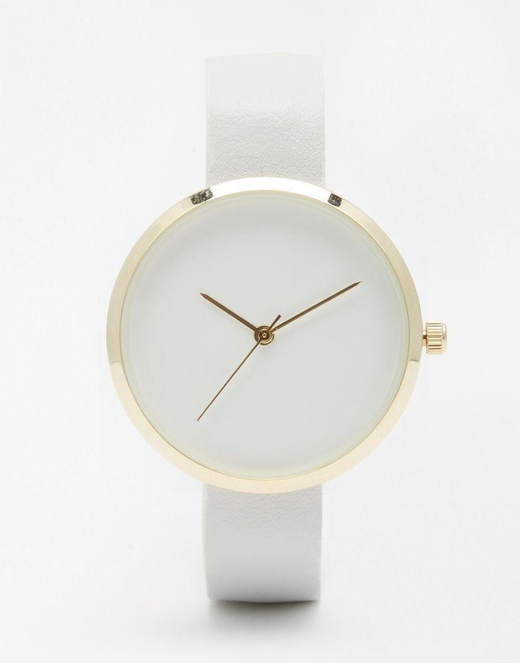 Bild 1 von ASOS – Minimalistische Uhr mit schmalem Armband