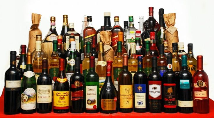 Бутылочные формы, которые дают ключ к содержимому бутылок