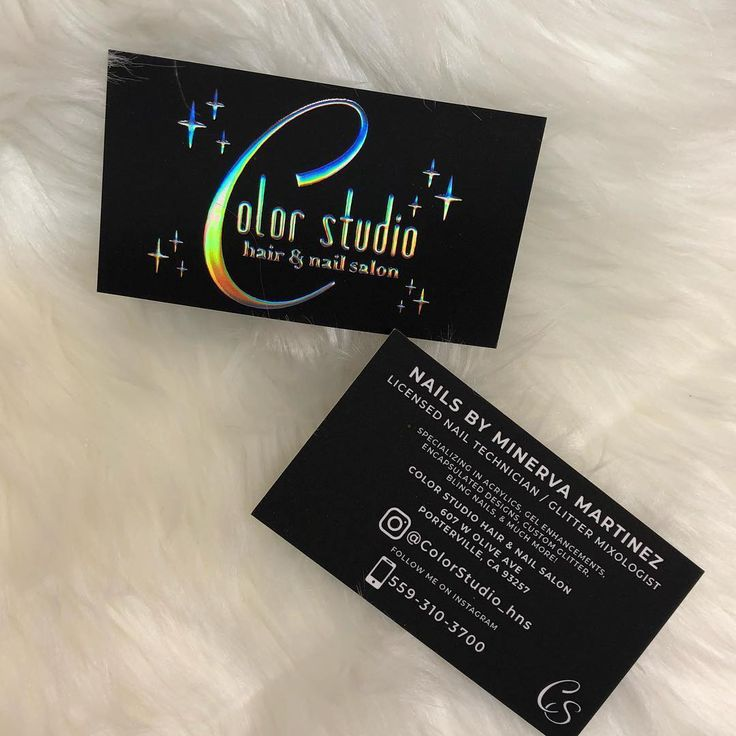 28 best Holographic Business Cards - Unicorn Foil - Rainbow Silver ...