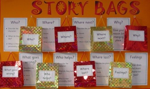 Literacy help: Alan Peat story bags - How to develop story writing and literacy skills in younger children.