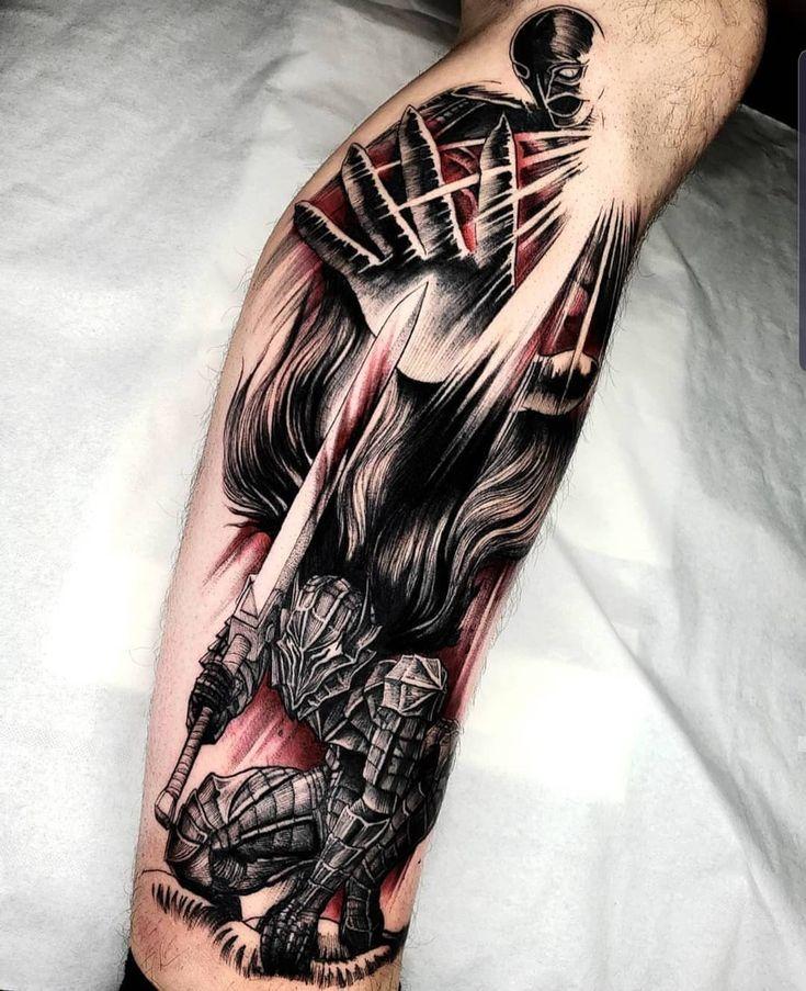 Berserk tattoo anime tattoo artist fetattooer