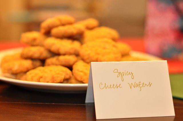 ... cheddar cheese, shredded 2 C Rice Krispies Preheat o… | Pinteres