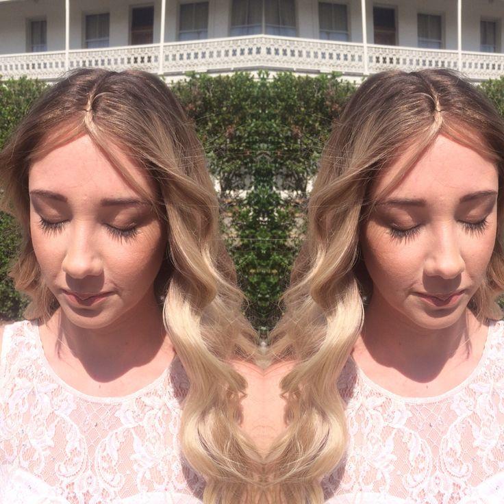Front shot of Hannah's hair.