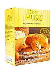 Low Carb Brot Rezept mit Flohsamenschalen Pulver für eine Diät ohne Kohlenhydrate und glutenfrei. Interview zur Anwendung, Dosierung, Wirkung und Einnahme.
