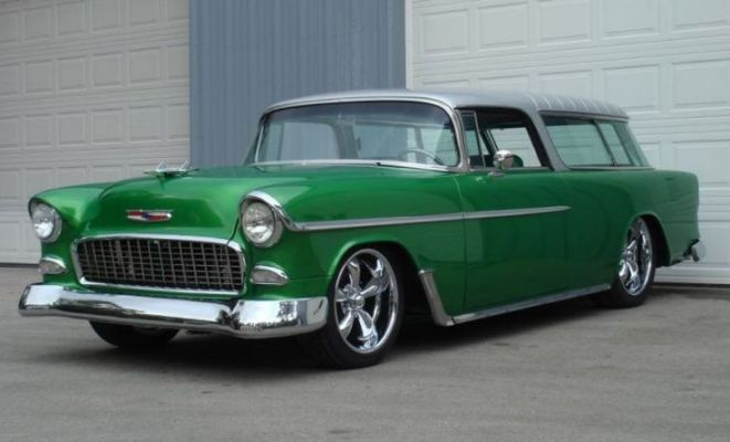 1955 CHEVROLET NOMAD 2 DOOR CUSTOM