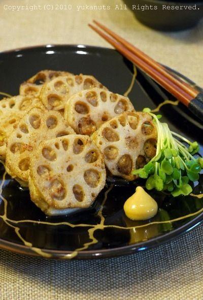 豚ひき肉のれんこんはさみ焼き by yukaナッツさん | レシピブログ ...