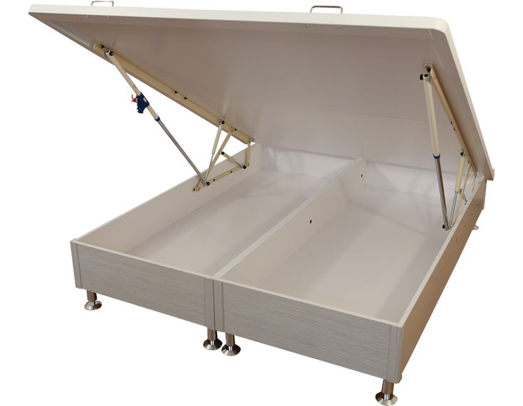 safe effort buffered lift storage bed