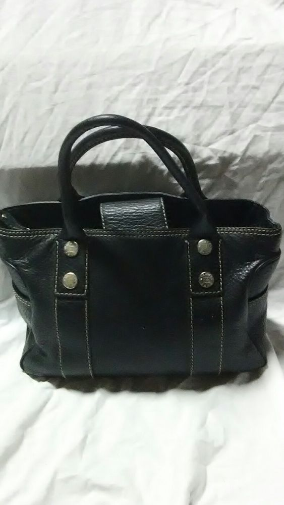 72cd487667f3 Vintage Black Leather Michael Kors Handbag Great Condition purse Classic  Style #fashion #clothing #shoes #accessories #womensbagshandbags (ebay link)
