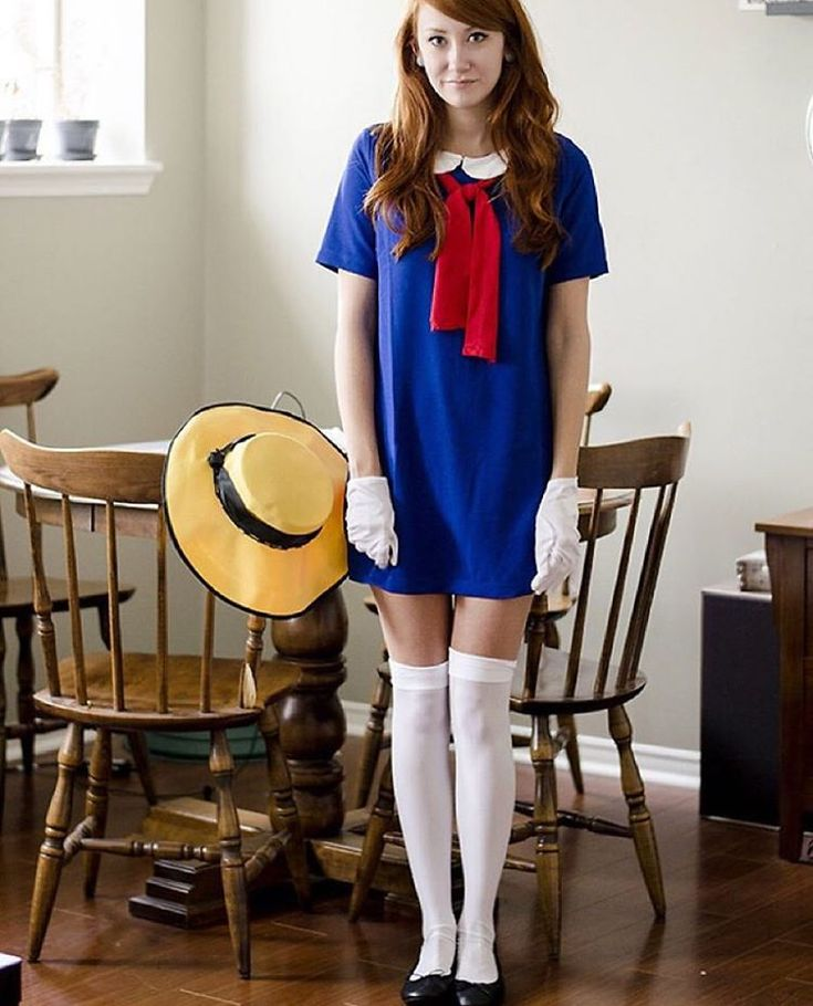 """#tbt last years crazy last minute Madeline costume, that ended up being the one of my best Halloween costumes yet! Thanks @lookbook for featuring it and…"""