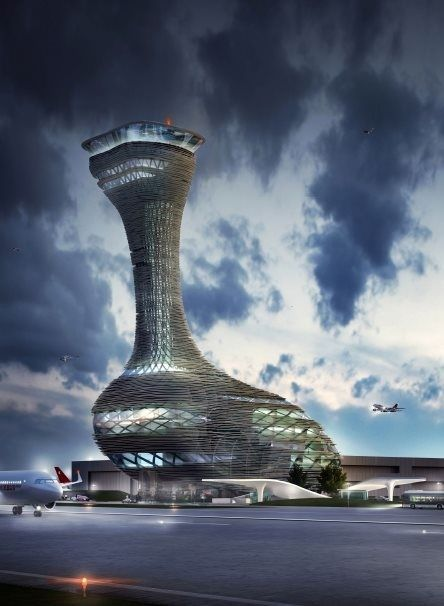 Looks very organic: Architects compete for new Istanbul airport tower
