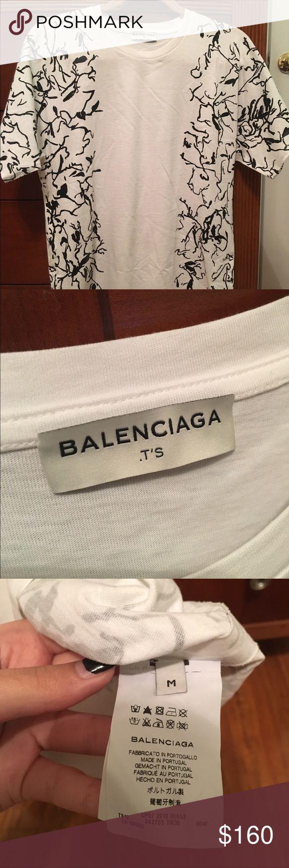 BALENCIAGA shirt NEVER WORN, comes with all tags, perfect condition Balenciaga Tops Tees - Short Sleeve