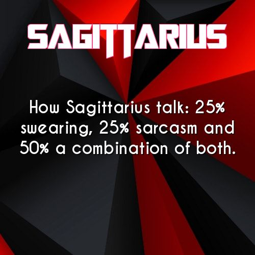 100% true #Sagittariuslife #lobsterlife                                                                                                                                                                                 More