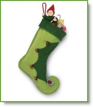 Elf Boot #Stocking Tutorial