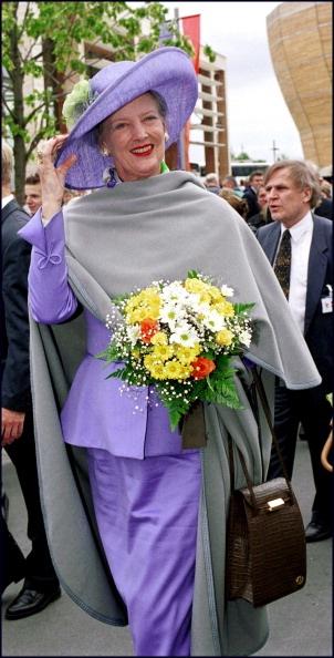 Queen Margrethe II of Denmark.