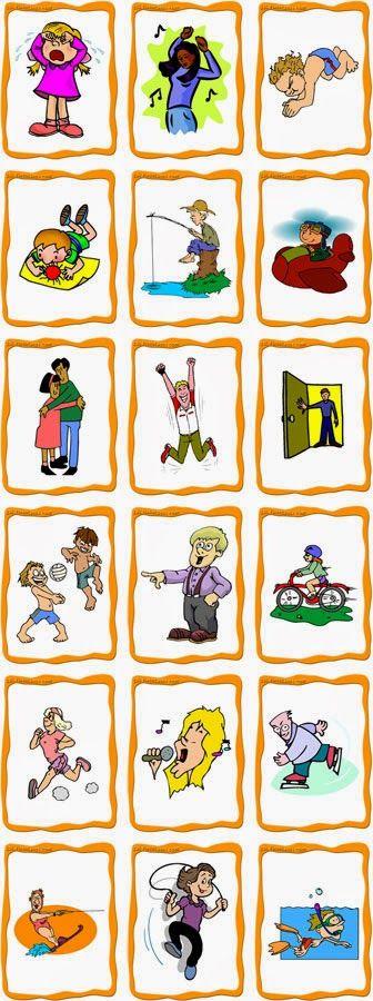 Psicopedagogia Salvador: Cartões de ações cotidianas para baixar (Parte II)...