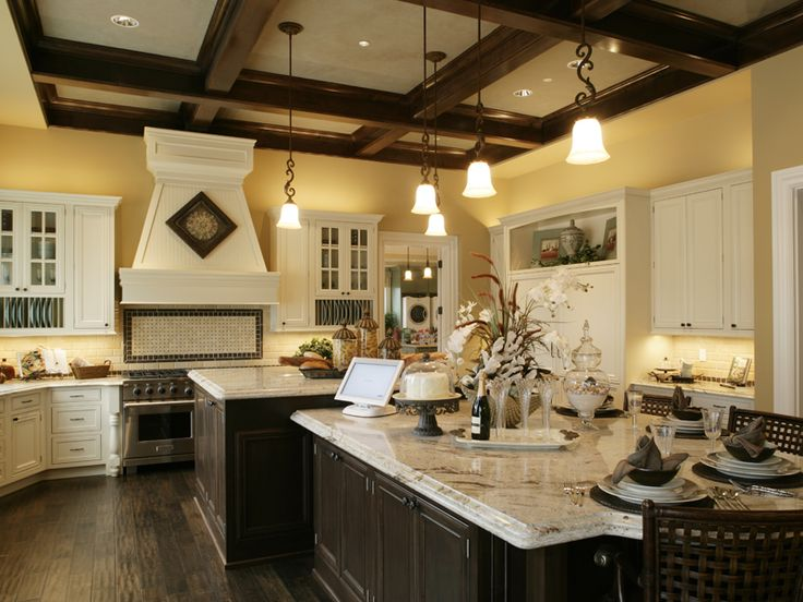 Beautiful Open House Plans with Large Kitchens