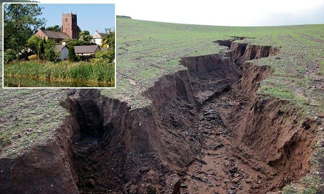 17 best images about erosion on pinterest conservation for Soil erosion causes