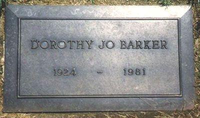 Dorothy Jo Gideon Barker - Wife of Game Show Host Bob ...