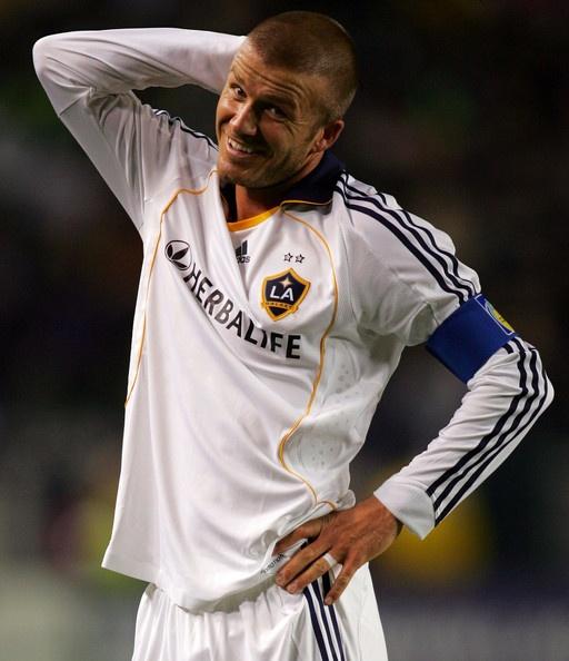 David Beckham Photo - San Jose Earthquakes v Los Angeles Galaxy