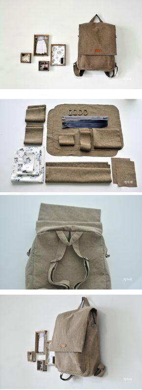 Step By Step Backpack DIY