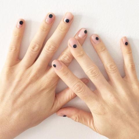 20 minimalist nail art ideas for the lazy cool girl - FASHION Magazine