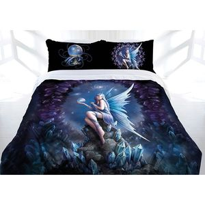 Anne Stokes — Stargazer Quilt Cover, Queen-Sized. Comes with pillow cases as well!