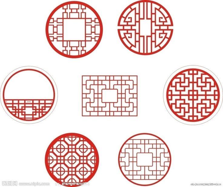 Chinesische Fenster