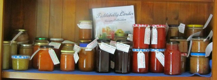 Only available at WinterFest Sunday 7 June, Gilmore Court, Belgrave South. homemade Relishes, Jams, Marmalades & Pickles made especially for you to enjoy.