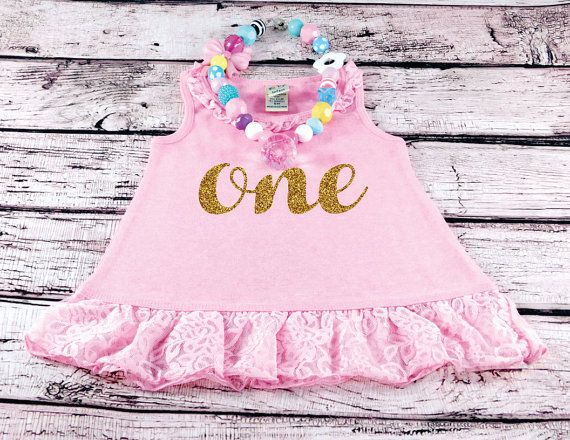 First Birthday Dress Baby Girl Birthday by LittleLillyBugDesign
