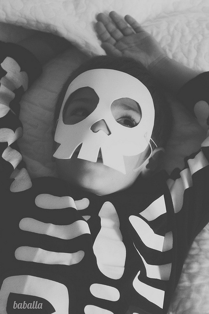 disfraz_esqueleto_2 by baballa / skeleton costume by baballa #halloween #costume