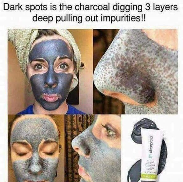 Mary Kay charcoal mask Clear Proof