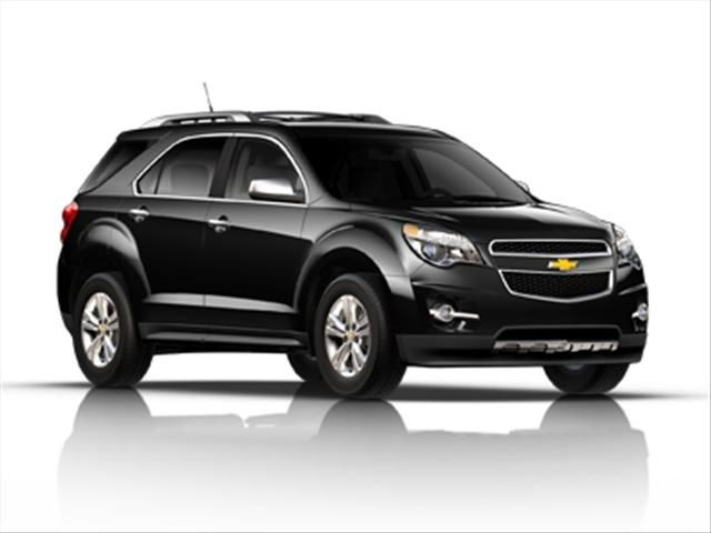 Chevy Equinox. Can't decide between this or the Ford Escape! Steven wants me to get a Tahoe but I'm not settling for anything less than 30mpg on the highway since we travel a lot.
