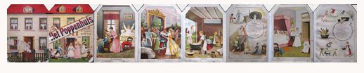 DISEÑO MINI: Dollhouse Libro de 1872
