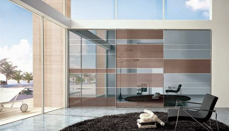 Model segmenta wood+glass