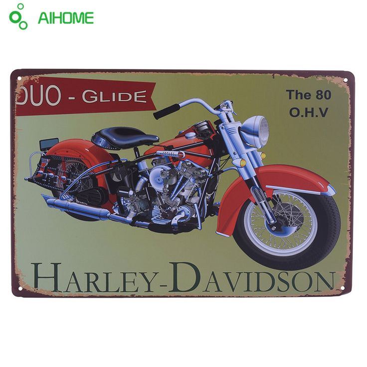 Vintage tin signs retro motorcycle&bus&car metal sign antique imitation iron plate painting decor for bar cafe pub restaurant