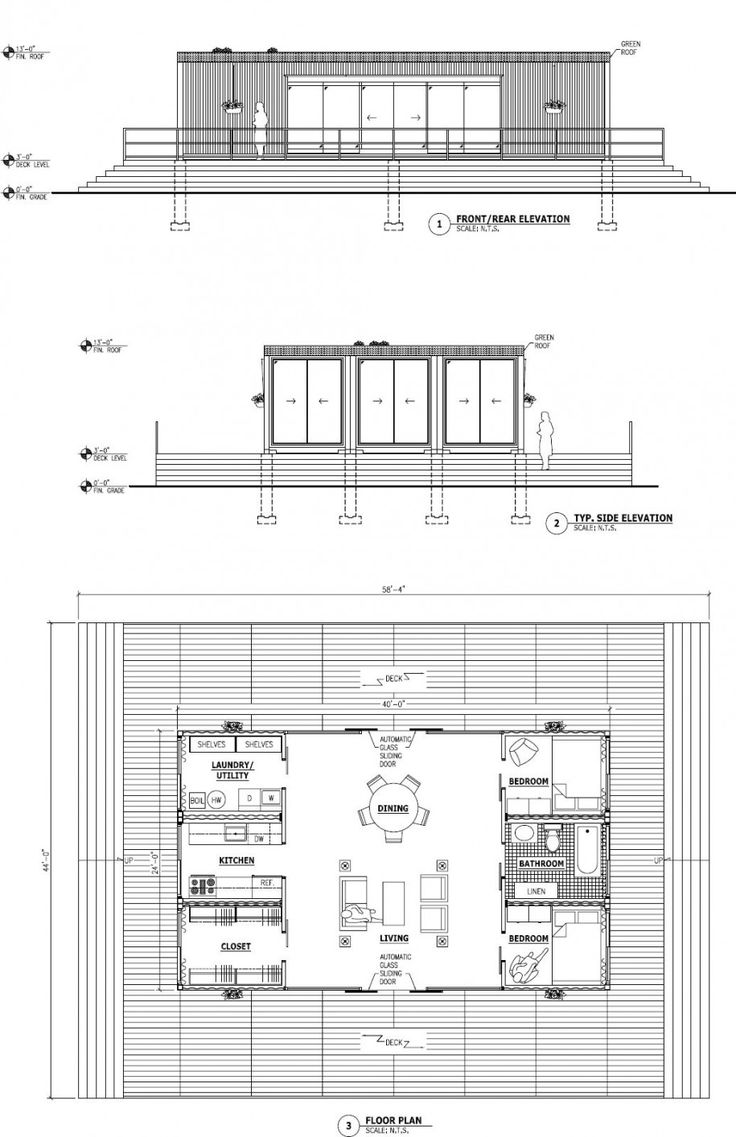 Home Design: Innovative Shipping Container House Plans Contemporary Design,  Floor Plan, Adjoining Agreement Part 45