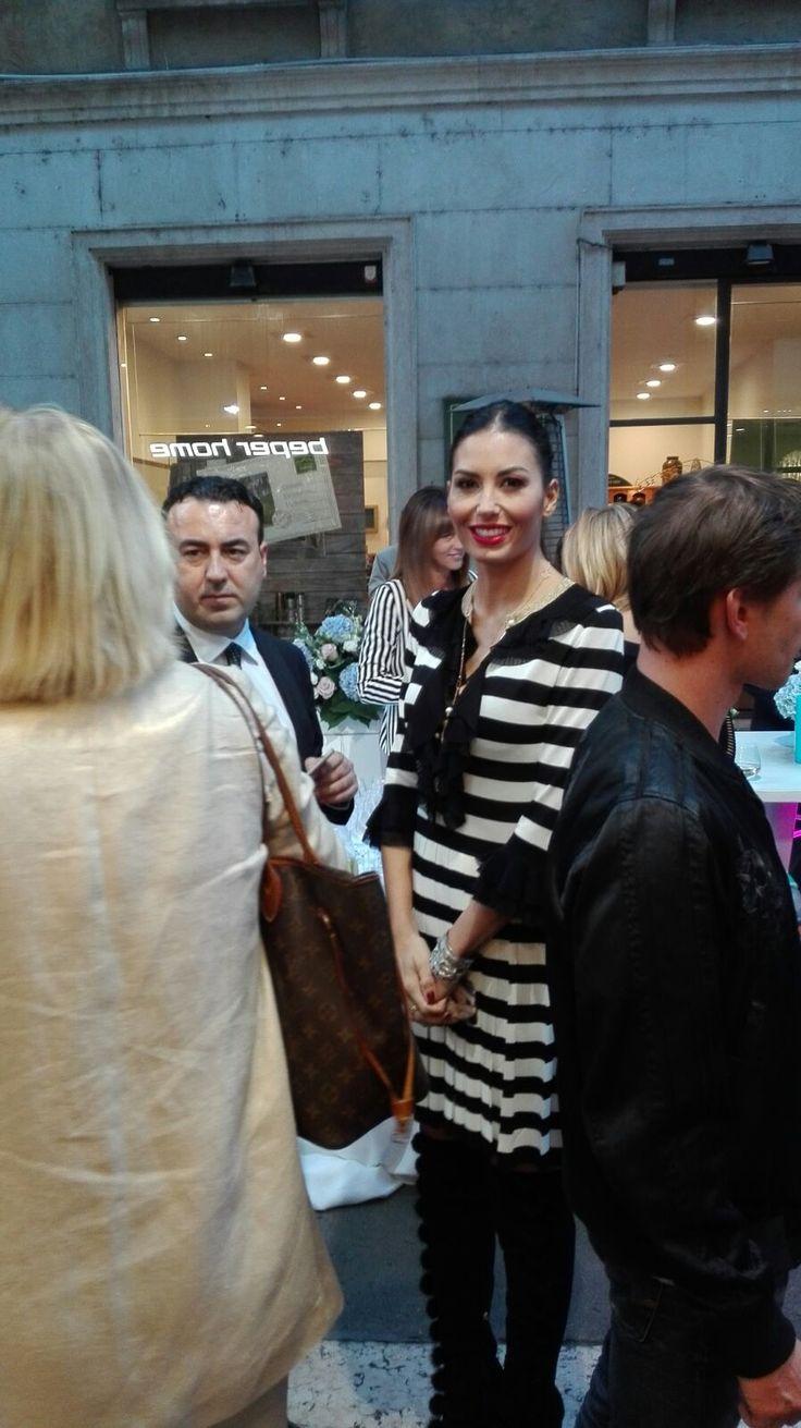 Anche la bellissima Elisabetta Gregoraci è un'affezzionata BEPER HOME.  @beperhome #shops #ourcustomers http://www.beperhome.it/  http://www.beperhome.it/blog