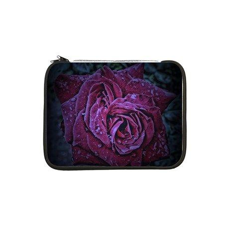 """Purple Rose 13"""" Laptop Sleeve by AngelEowyn. $22.99"""