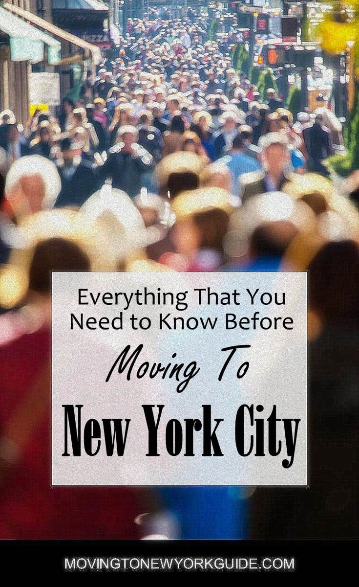 Everything that you Need to Know Before Moving to New York