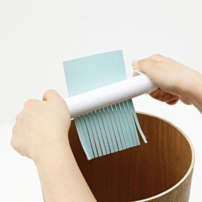 Portable Shredder: Ask your boss to make you a written business offer so as to turn it down with style! - www.MyWonderList.com