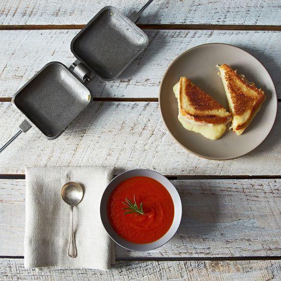 Square Jaffle Iron is half waffle iron, half panini maker on Food52: http://food52.com/provisions/products/743-square-jaffle-iron #Food52
