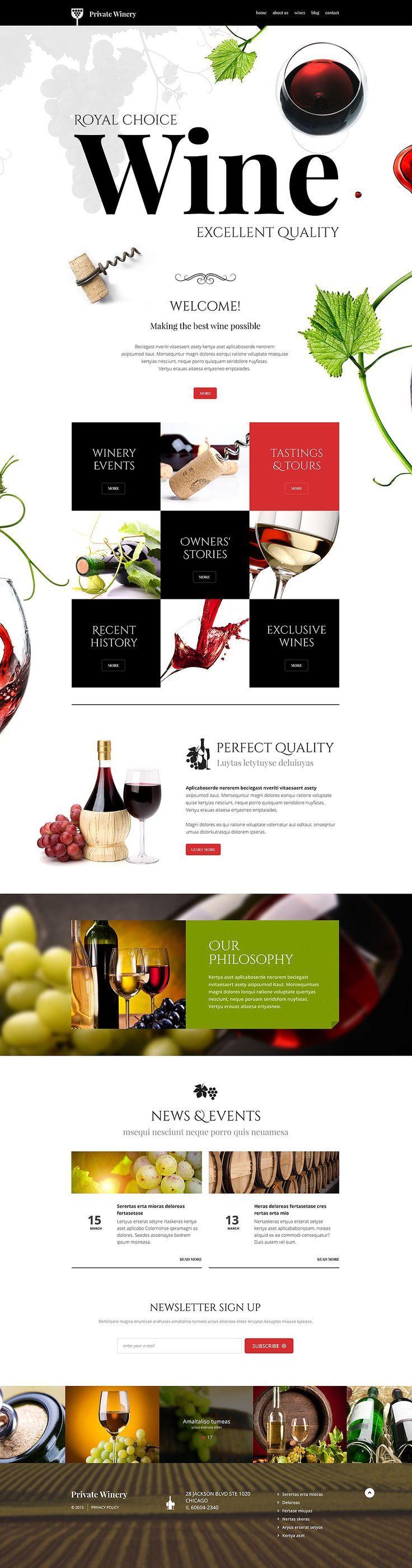 Private #Winery #WordPress Theme #restaurant #cafe http://www.templatemonster.com/wordpress-themes/54789.html?utm_source=Pinterest&utm_medium=timeline&utm_campaign=54789