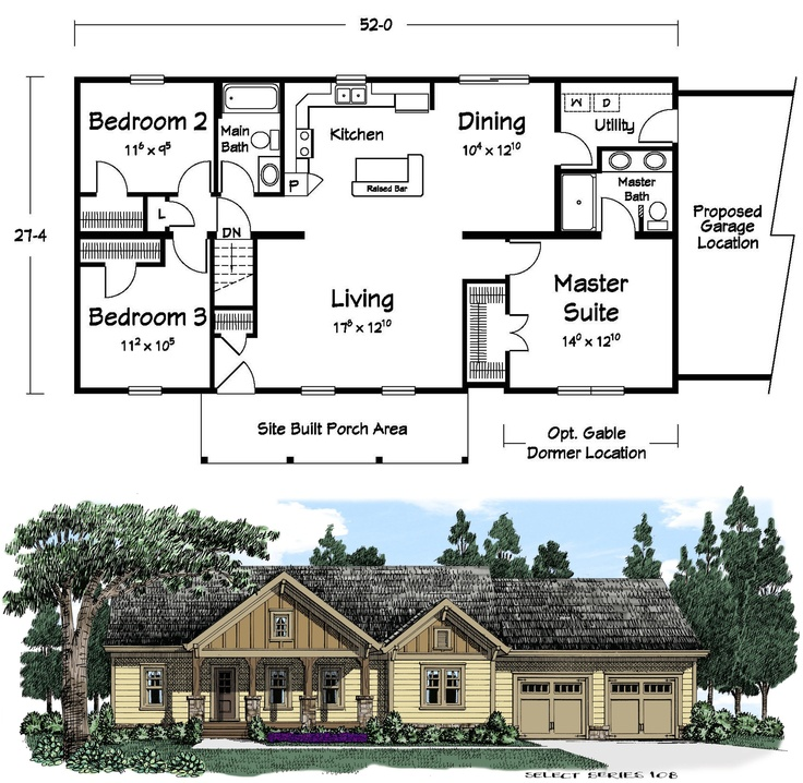 What do you like most about this plan tell us below for Mi homes ranch floor plans